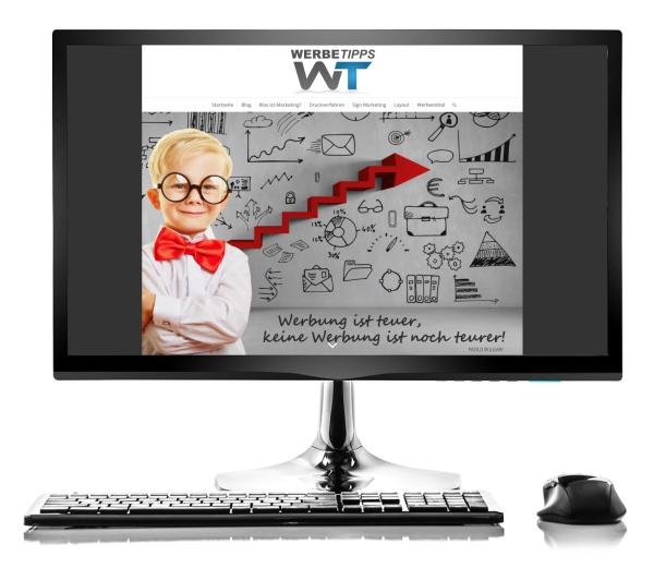 Webdesign von Werbetipps.com