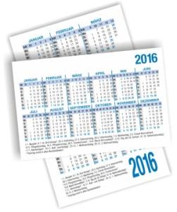 Taschenkalender 2016