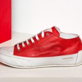 Roter Sneaker Schuh von Candice Cooper