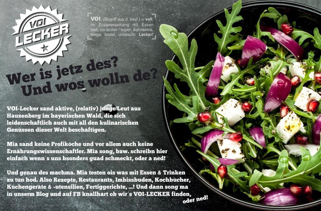 Selbstportrait vom Foodblog VOI Lecker
