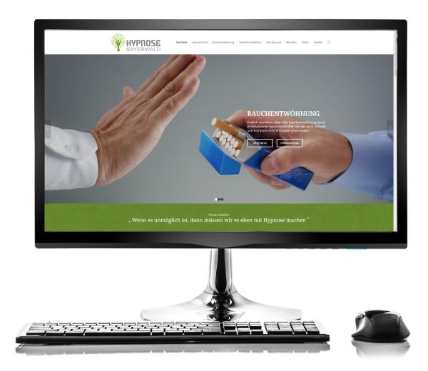 Webdesign Referenz - Hypnose Bayerwald