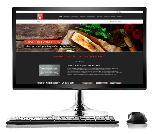 Webdesign Referenz - Voi-Lecker