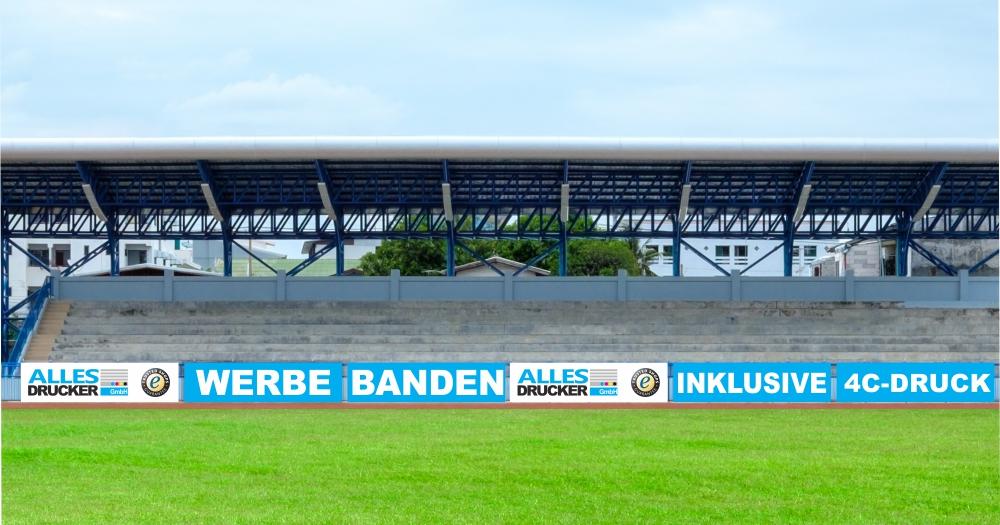 Sportplatz Werbebanden