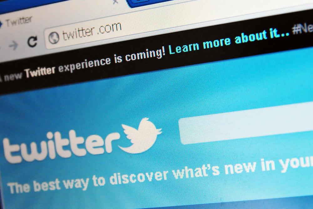 Twitter Suchleiste