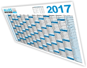 Werbekalender 2017 - Wandkalender