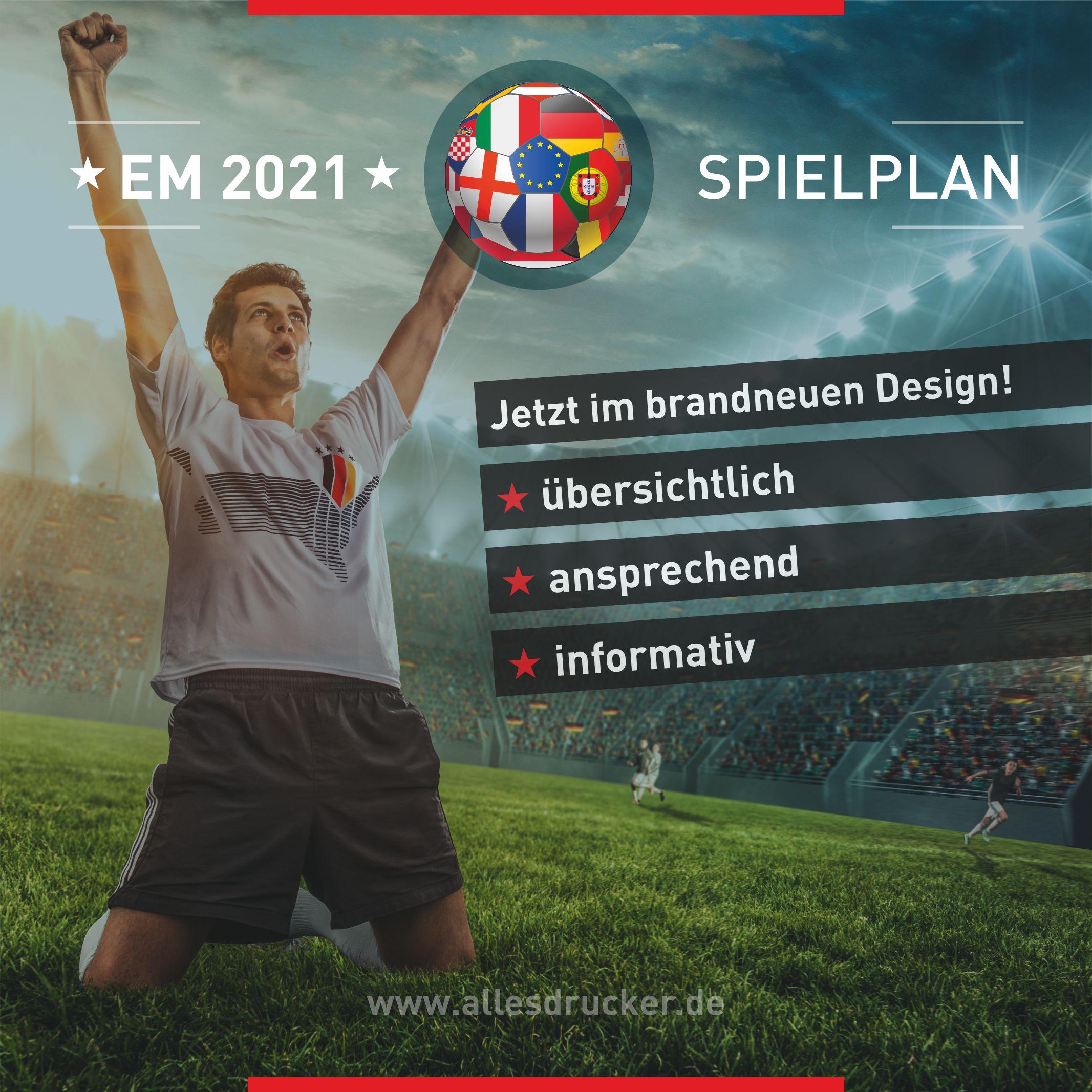 Spielplan Fußball 2021